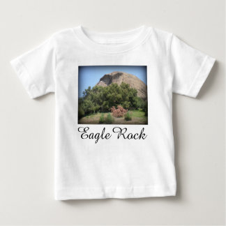 Eagle Rock Monument in Los Angeles, California Baby T-Shirt