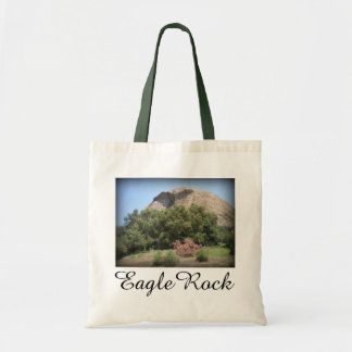 Eagle Rock Monument in Los Angeles, California Tote Bag