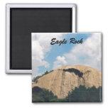 Eagle Rock Square Magnet