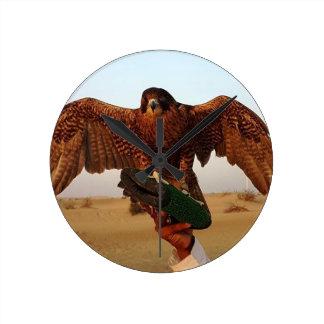Eagle Round Clock