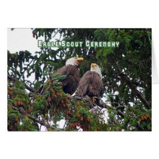 Eagle Scout Ceremony Invitation, Bald Eagles Card