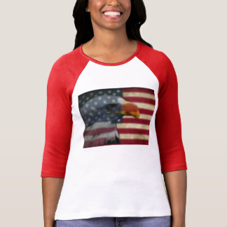 Eagle shirt with American flag
