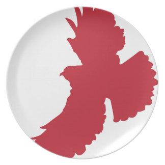 Eagle Silhouette Dinner Plate