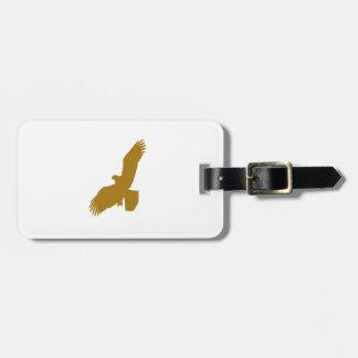 Eagle Silhouette Luggage Tag