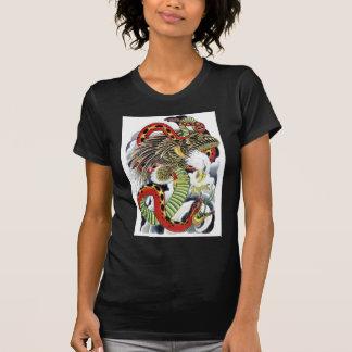 Eagle & Snake tattoo design T-Shirt