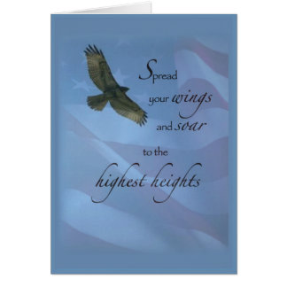 Eagle Soar to Highest Heights Greeting Cards