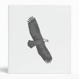 Eagle Soaring Vinyl Binder