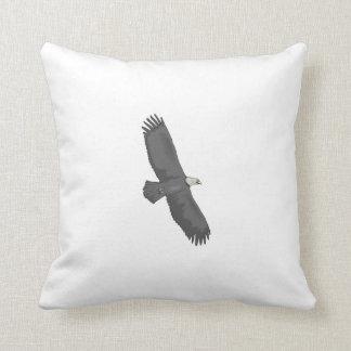 Eagle Soaring Throw Pillows