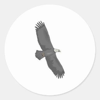 Eagle Soaring Sticker