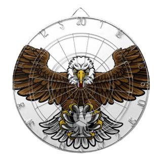Eagle Soccer Football Mascot Dartboard