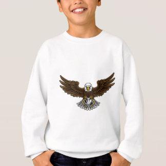 Eagle Soccer Football Mascot Sweatshirt