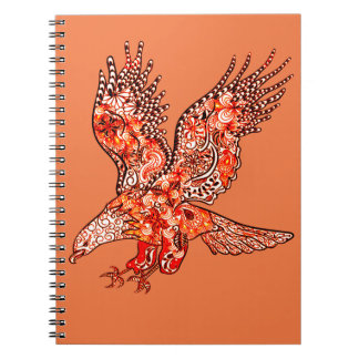Eagle Spiral Note Book
