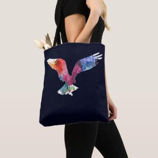 Eagle Spirit Animal Bird. Totem. Watercolor Art Tote Bag