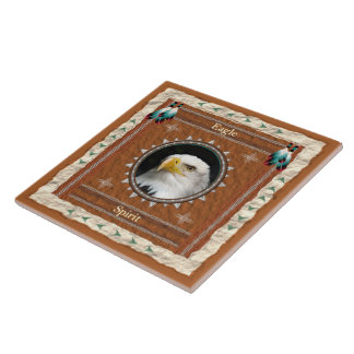 Eagle -Spirit- Ceramic Tile