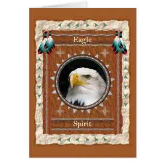 Eagle -Spirit- Custom Greeting Card