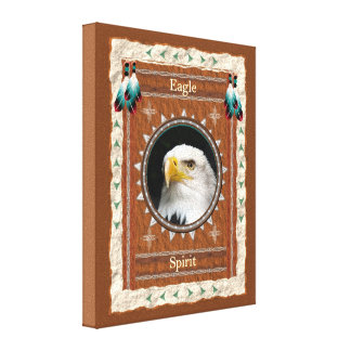 Eagle -Spirit- Stretched Wrapped Canvas