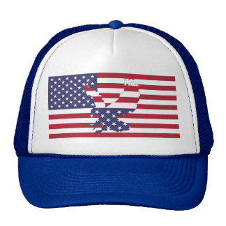 Eagle Stars and Stripes Trucker Hat