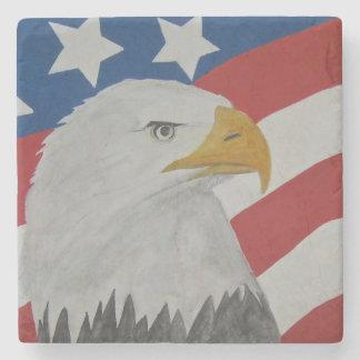 Eagle Stone Beverage Coaster