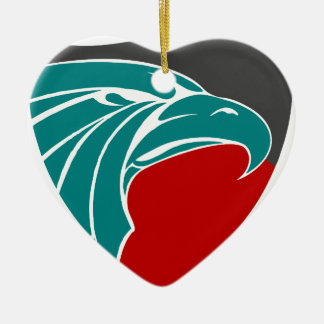Eagle Strength And Pride Ceramic Ornament