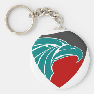Eagle Strength And Pride Keychain