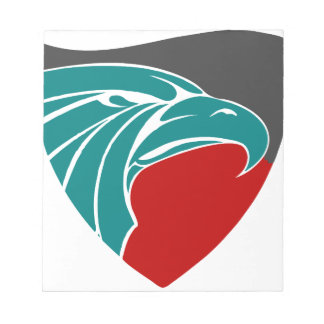 Eagle Strength And Pride Notepad