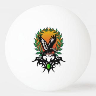 Eagle Sun, tribal jewel Ping Pong Ball