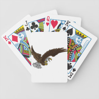 Eagle Swooping Bicycle Playing Cards