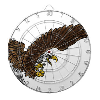 Eagle Swooping Dartboard With Darts