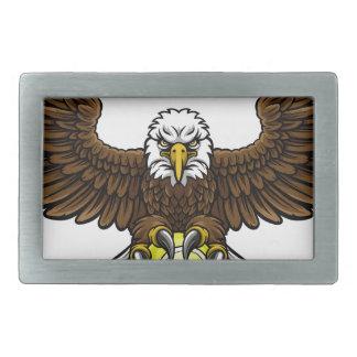 Eagle Tennis Sports Mascot Belt Buckle