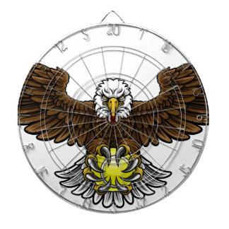Eagle Tennis Sports Mascot Dartboard