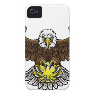Eagle Tennis Sports Mascot iPhone 4 Case-Mate Cases
