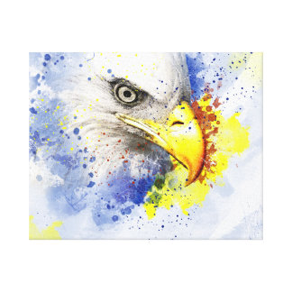 Eagle The Predator Canvas Print