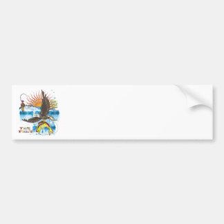 Eagle-Thief-3 Bumper Sticker