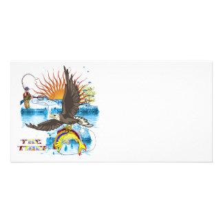 Eagle-Thief-3 Photo Card Template