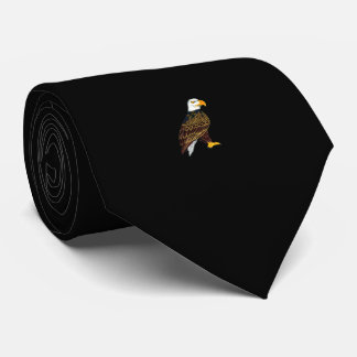 Eagle Tie Black