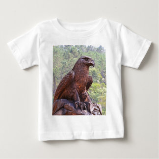 Eagle totem carving, Portugal 2 Baby T-Shirt