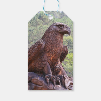 Eagle totem carving, Portugal 2 Gift Tags