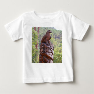 Eagle totem carving, Portugal Baby T-Shirt