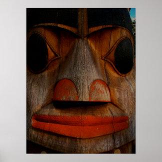 Eagle totem poster