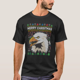 Eagle Ugly Christmas Sweater Wildlife Series