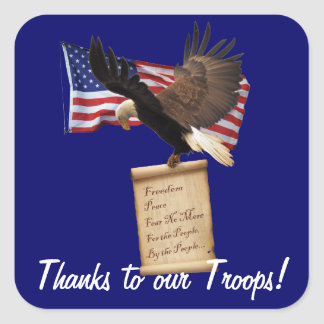 Eagle, US Flag, Freedom & Patriotic Stickers