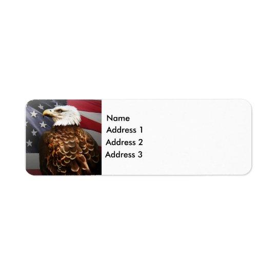 Eagle-USA, Address 2, Address 3, Address 1, Name Return Address Label