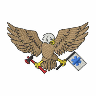 Eagle with Flag and Axe