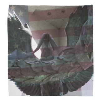 Eagle with Flag Overlay Bandana