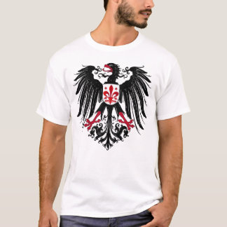 Eagle with Fleur de Lis T-Shirt