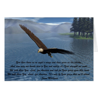 Eagle with Poem Card