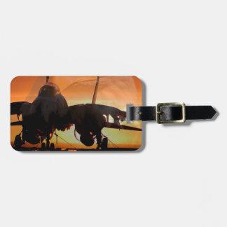 eaglefighterjet22 luggage tag