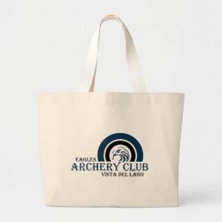 Eagles Archery Club Items Large Tote Bag