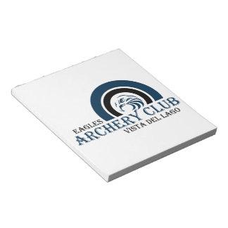 Eagles Archery Club Items Notepad