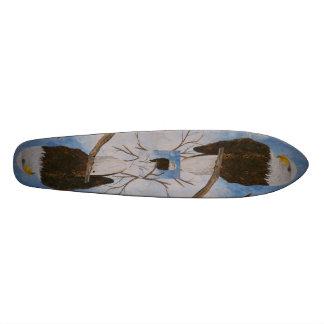 Eagles Custom Skate Board